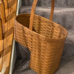 Stair Basket, Vintage from Ashwood Basket Company